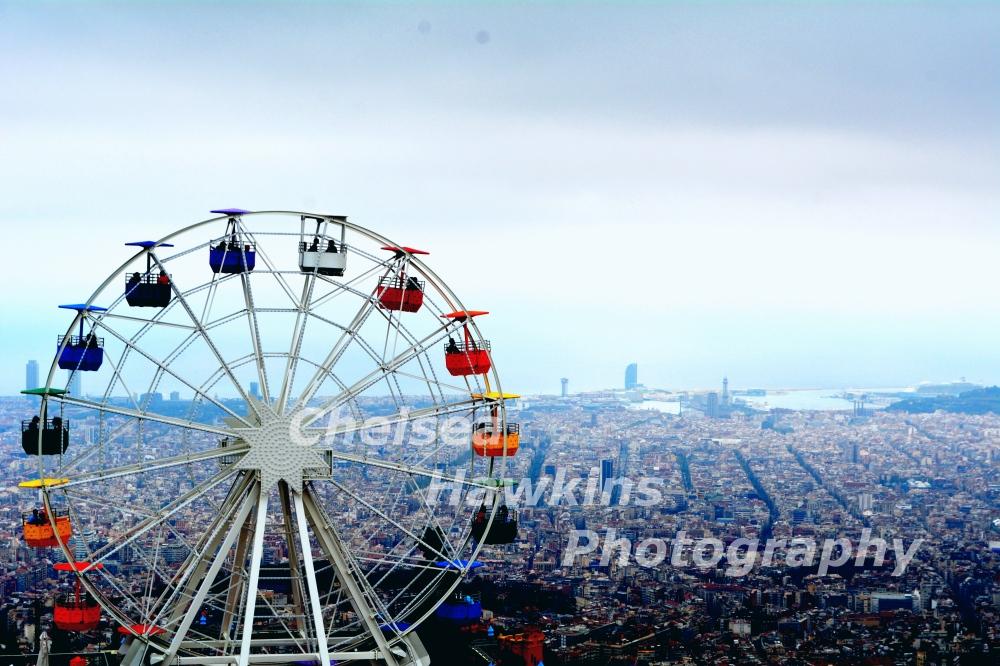 Barcelona amusement park 3 watermarked