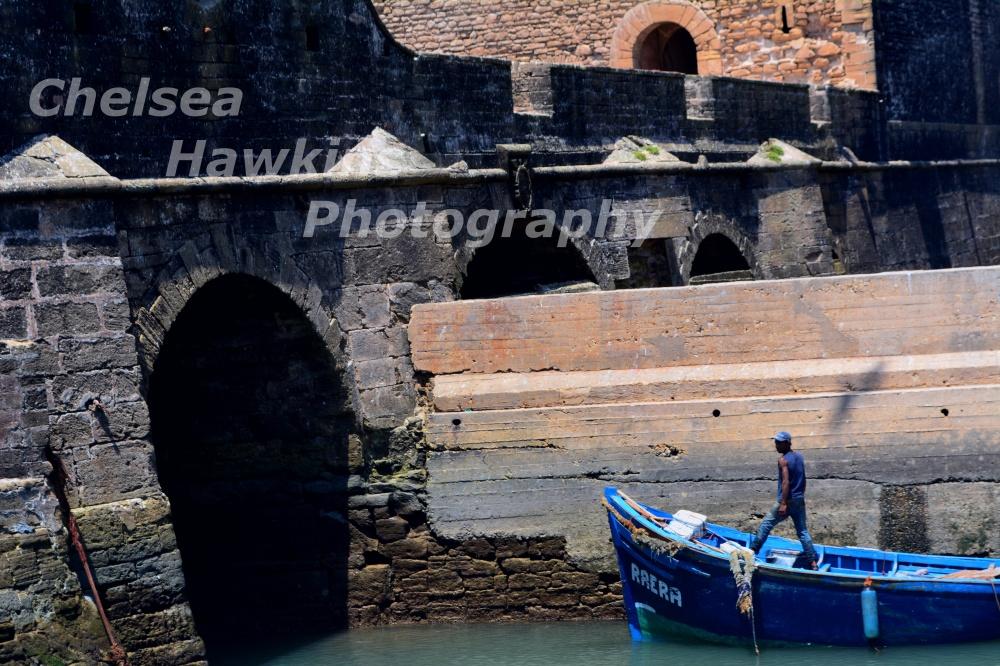 Fisherman in Essaouria watermarked