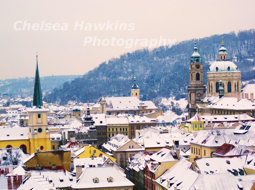 The Rooftops of Prague watermark