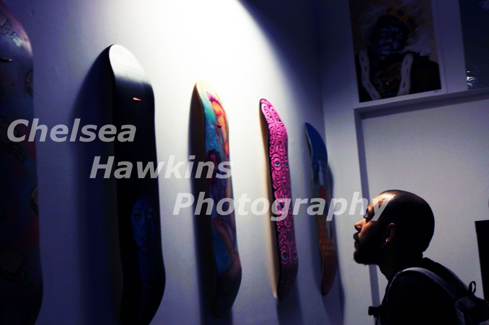 viewer at the gallery watermarked